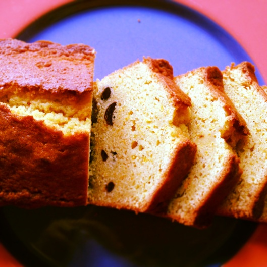 chocolate orange pound cake