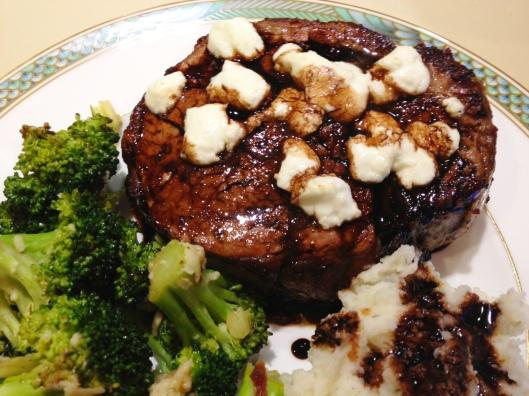 Mmm. Steak.