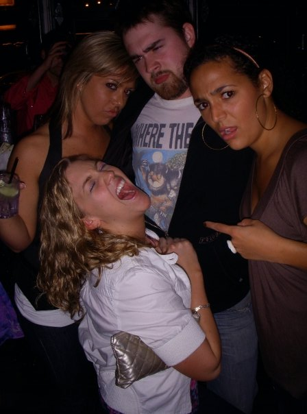A classic example of a thirsty throwback: Me and Jordan's birthday party in 2009, after we were really thirsty and had too many drinks...A special Thanks to Morgan and Alexis for still being friends with us...