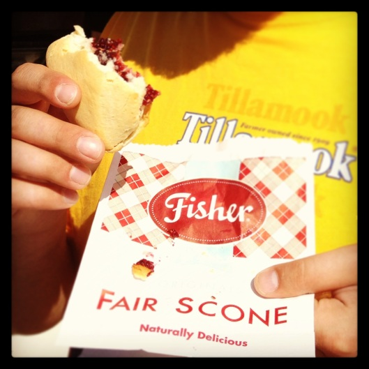 The Famous Fisher Fair Scones