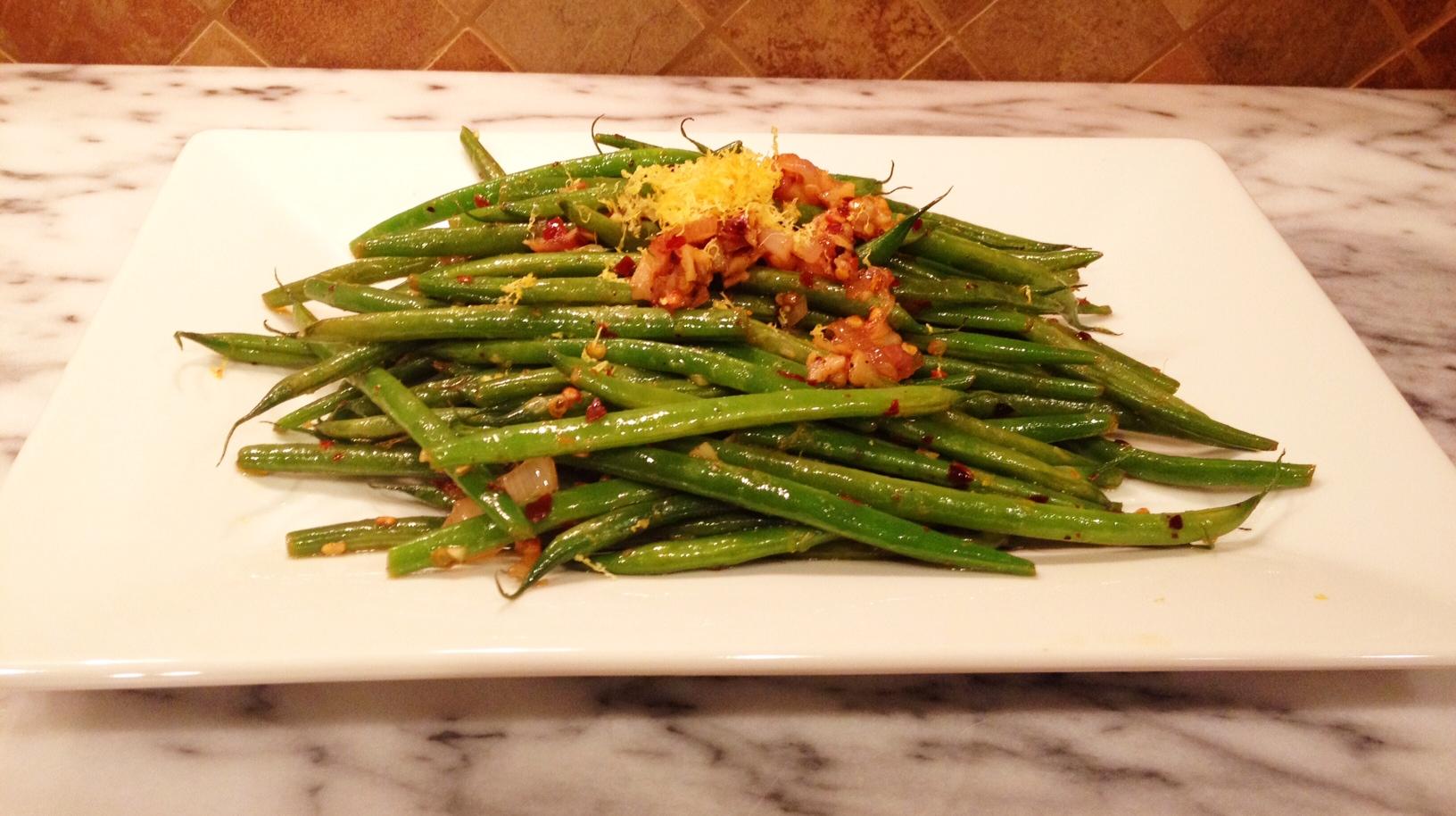 Spicy Garlic Green Beans | Baked Northwest