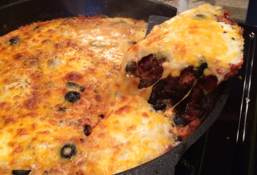 Baked Ranchero Eggs