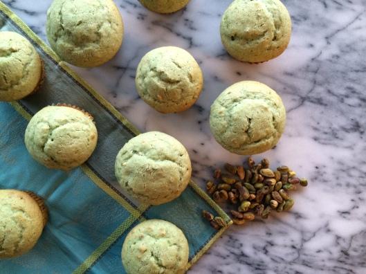 Pistachio Muffins