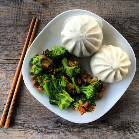 Ginger Soy Broccoli