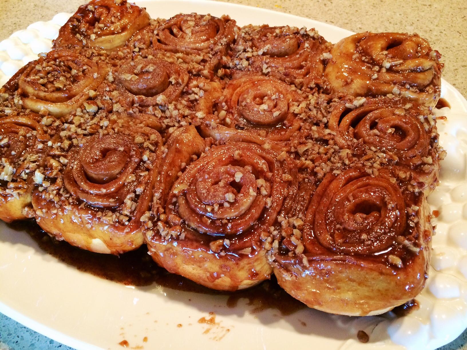 pecan brioche rolls wicked good pecan rolls tends to serve pecan rolls ...