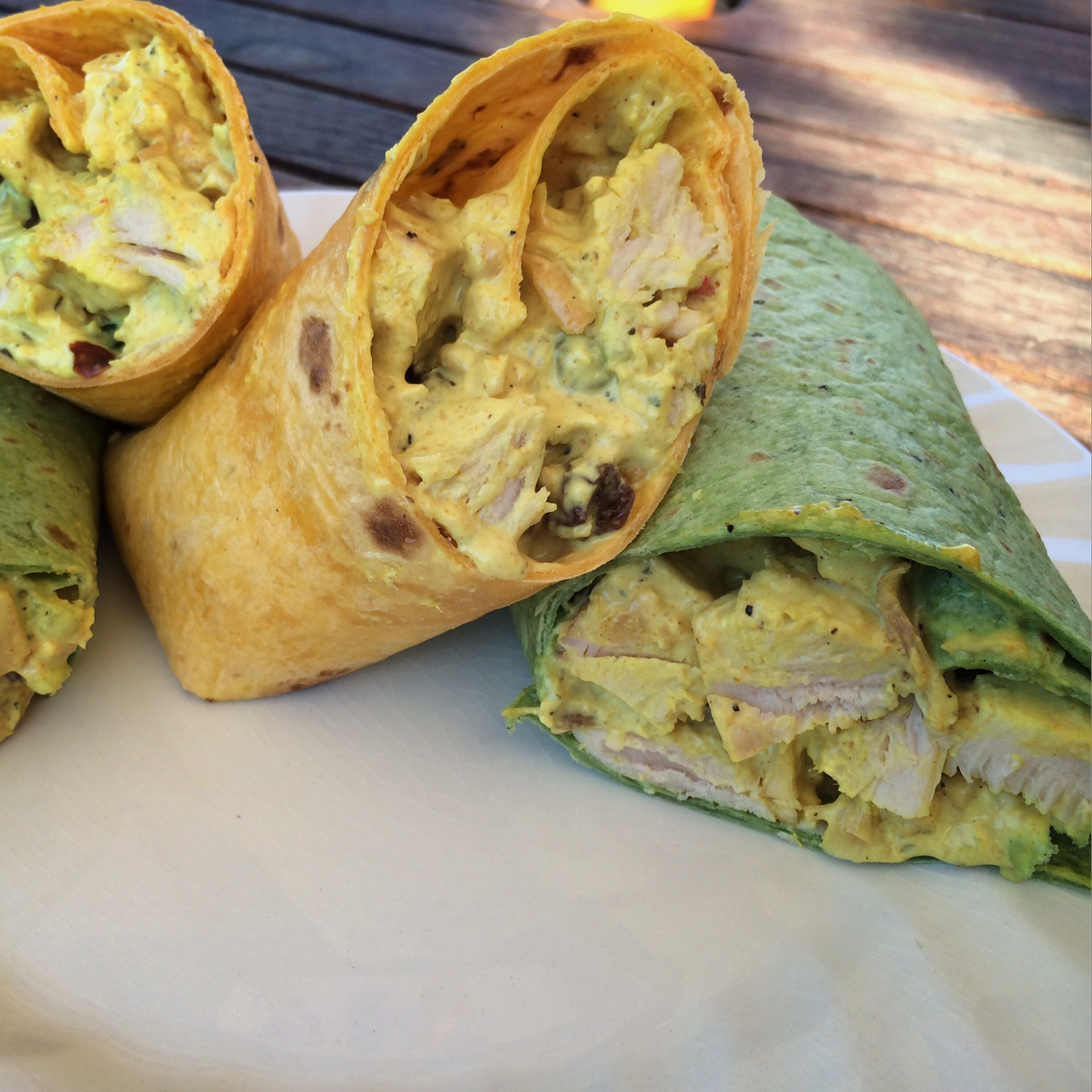 ... wraps curry chicken wraps recipes dishmaps curry chicken lettuce wraps