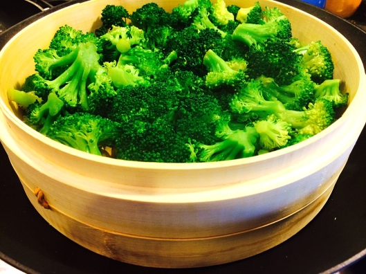 Broccoli with Steamer