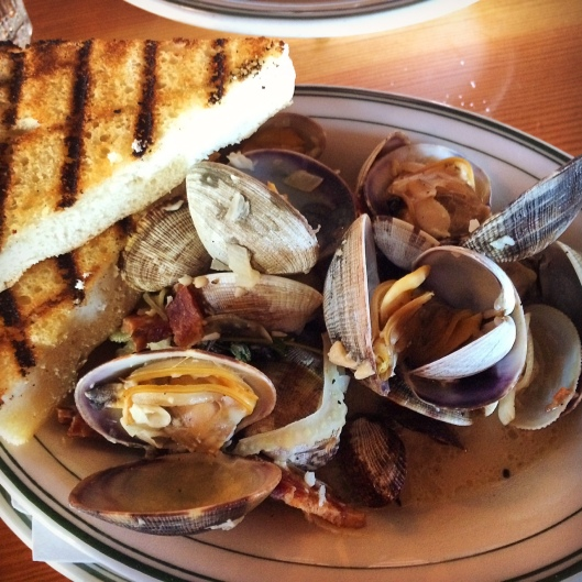 Clams at Cask and Schooner