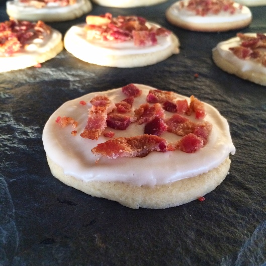 Maple Bacon Sugar Cookies