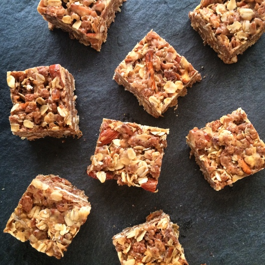 Peanut Almond Snack Bars