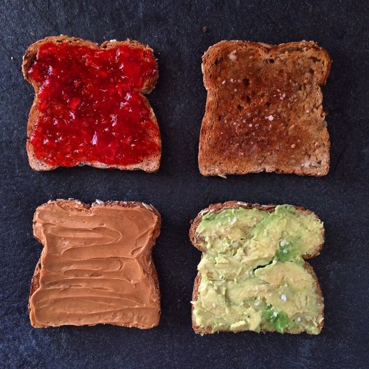 """Fancy"" Toast."