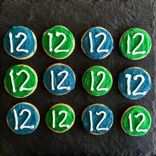 12th Fan Sugar Cookies