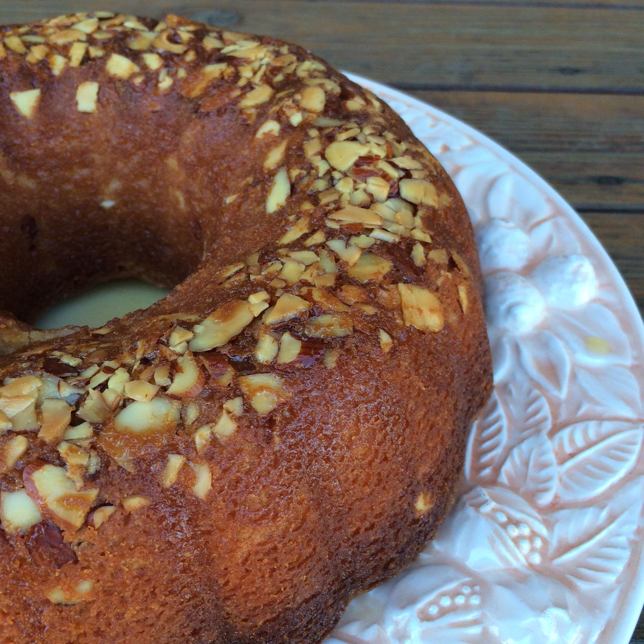 Amaretto Almond Pound Cake   Baked Northwest