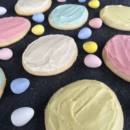 Cadbury Mini Egg Sugar Cookies