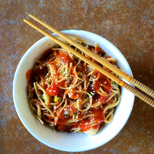 Chinese Chicken Salad ADD SRIRACHA