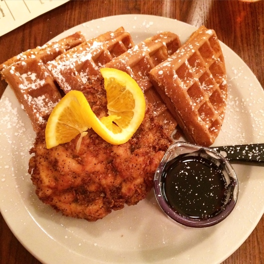 Screen Door Chicken and Waffles