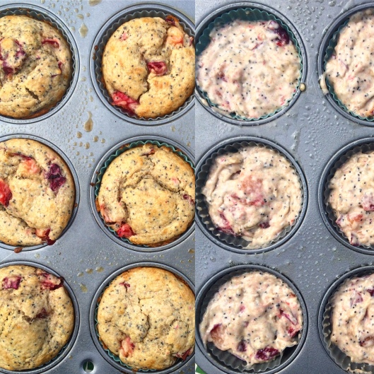 Plum Muffins and Batter